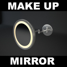 Make-up Mirror 3D Model