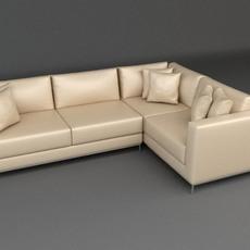 Sofa 1 3D Model