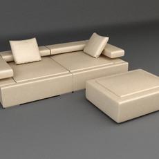 Sofa 3 3D Model