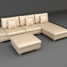 Sofa 4 3D Model