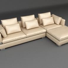 Sofa 5 3D Model
