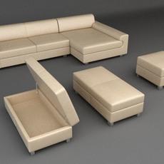 Sofa 7 3D Model