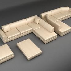 Sofa 9 3D Model