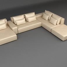 Sofa 19 3D Model