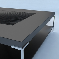 Coffee Table Contemporary Style 3D Model