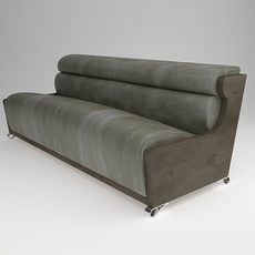sofa contemporary style 3D Model