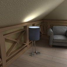 duck foot lamp 3D Model