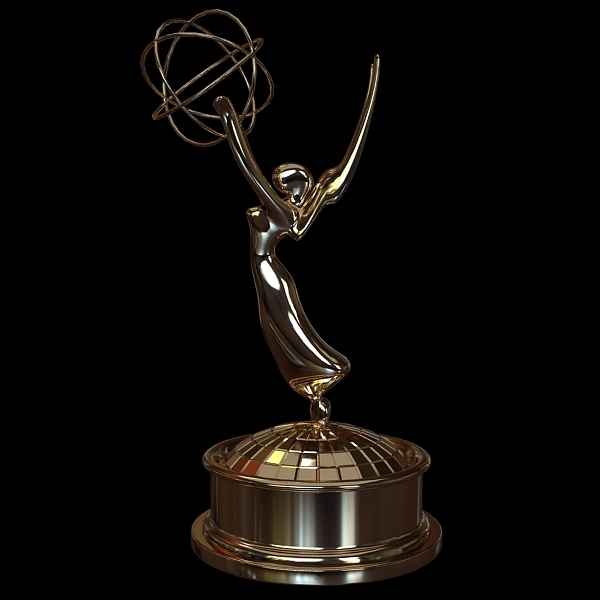 Emmy Award Trophy 3D Model