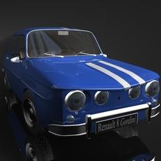 Renault 8 Gordini 3D 3D Model