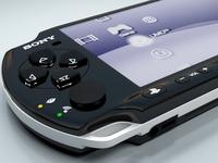 Sony psp3000 3D Model