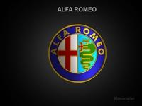 Alfa Romeo 3d Logo 3D Model