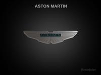 Aston Martin 3d Logo 3D Model