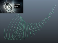 Spiral Curve Node and Cmd for Maya 8.5 to 2012 1.1.0 for Maya (maya plugin)