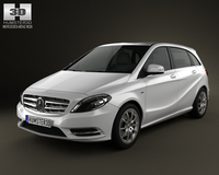 Mercedes-Benz B-class 2012 3D Model