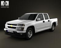 Chevrolet Colorado CrewCab 2012 3D Model