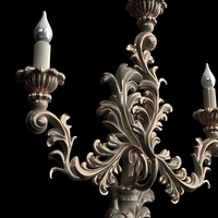 Candelabrum Sconce Light 3D Model