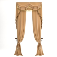 Elegant Curtains 3D Model