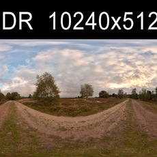 Field Path HDRI Environment (High Resolution)