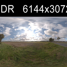 Road in field 3 HDRI Environment