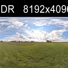 Cloudy Sky HDRI Environment (high res)