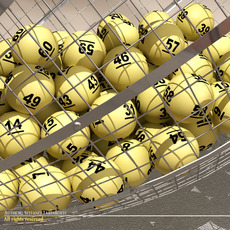 Lottery cage 3D Model