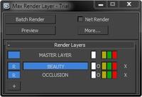 Max Render Layer for 3dsmax 1.0.3 (3dsmax script)
