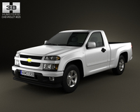 Chevrolet Colorado Regular Cab 2012 3D Model