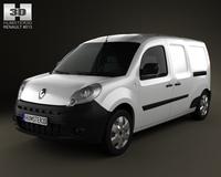 Renault Kangoo Maxi 2011 3D Model