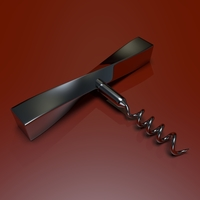 Corkscrew 3D Model