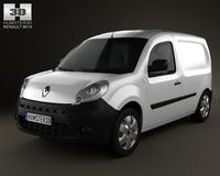 Renault Kangoo Van 1 SideDoor 2011 3D Model