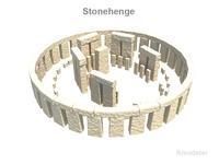 Stone Henge 3D Model