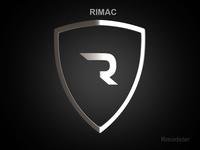 Rimac 3d Logo 3D Model
