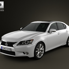 Lexus GS 2012 3D Model