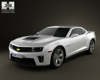Chevrolet Camaro ZL1 2011 3D Model