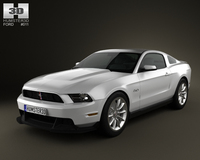 Ford Mustang Boss 302 2012 3D Model