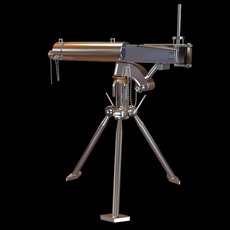 Detailed Telescope on Tripod Stand 3D Model