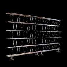 Contemporary Shelf Unit 3D Model