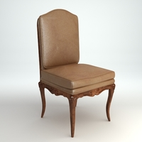 Traditional Side Chair 3D Model
