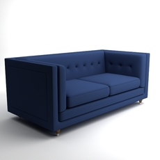 Sofa Hall Rodolfo Dordoni 3D Model