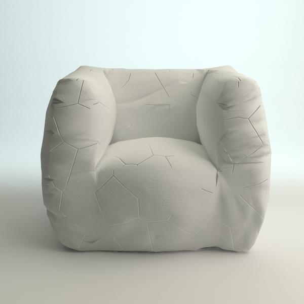 Wondrous Designer Italian Armchair 3D Model Pabps2019 Chair Design Images Pabps2019Com