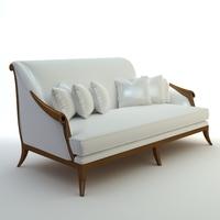 Italian Sofa 3D Model
