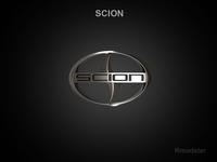Scion 3d Logo 3D Model