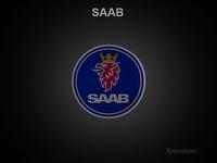 Saab 3d Logo 3D Model