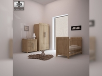 Nursery room furniture 09 Set 3D Model