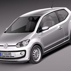 Volkswagen UP! 2013 3D Model