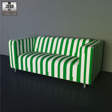 IKEA KLIPPAN sofa 3D Model