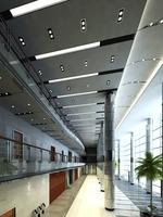 Lobby Reception Area 09 3D Model