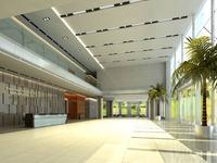 Lobby Reception Area 10 3D Model