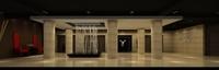 Lobby Reception Area 15 3D Model