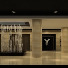 Lobby Reception Area 15 3D Model